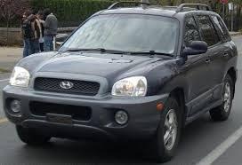 Hyundai Santa fe 2001-2005