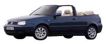 Vw Golf 4 Cabriolet 1993-2004